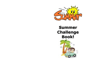 Summer Activity Challenge Book