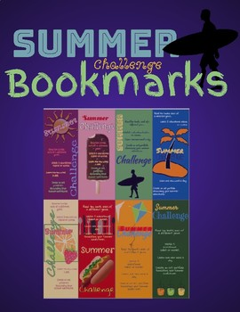 Summer Challenge Bookmarks