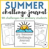 Summer Challenge Journal | 20 Summer Break Activities for