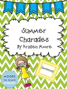Summer Charades FREEBIE!