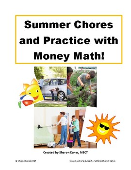 Summer Chores and Practice with Money Math