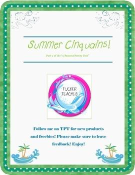Summer Cinquains