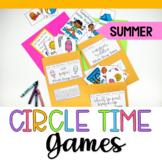 Summer Circle Time Games