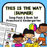 Summer Circle Time Song Pack for Preschool and Kindergarten