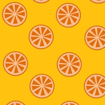 Summer Citrus Digital Paper: Oranges, Limes & Lemons