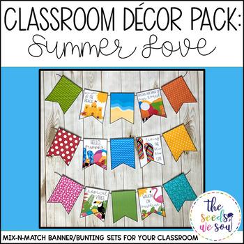 Summer Classroom Decorations