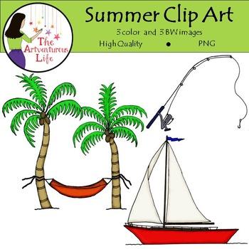 Summer Clip Art FREE