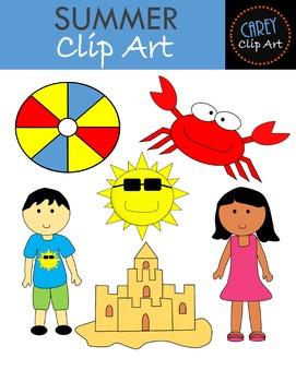 Summer Clip Art Pack