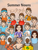 Summer Clip Art - American Sign Language ASL Set (PERSONAL LICENSE)