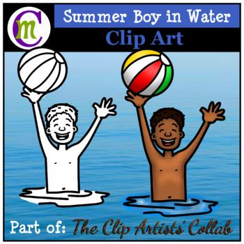 Summer Clip Art   Apr. 2017 Clip Artists' Collaborative FREEBIE