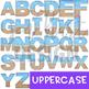 Alphabet Letters Clip Art - Beach Letters {jen hart Clip Art)