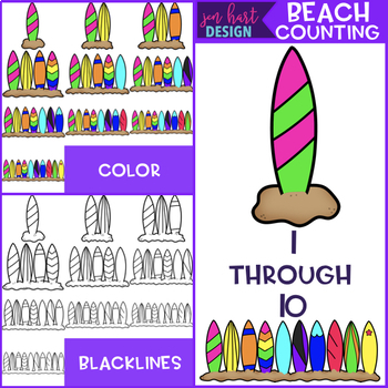 Summer Clip Art - Beach Mega BUNDLE {jen hart Clip Art}