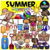 Summer Clip Art Bundle {Educlips Clipart}