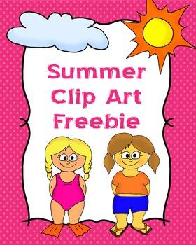 Summer Clip Art Freebie