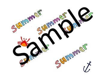 Summer Clip Art * Ice Cream * Beach * BBQ