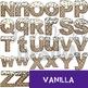 Alphabet Letters Clip Art - Ice Cream Letters {jen hart Clip Art}