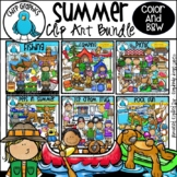 Summer Clip Art Mega-Bundle - Chirp Graphics