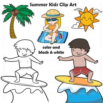 Summer | Beach Clip Art Kids