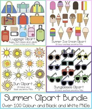 Summer Clipart Bundle!