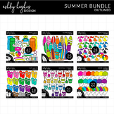 Summer Clipart Bundle