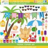 Summer Season Clipart