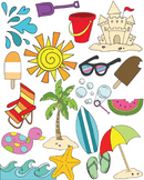 Summer Clipart Set {KT Creates Original}