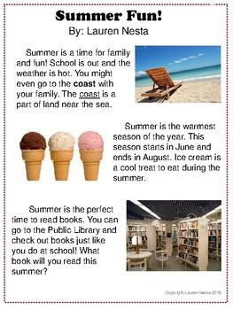 Summer Close Read