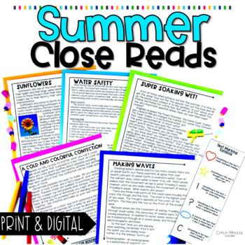 Summer Close Reads
