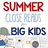Summer Close Reads for BIG KIDS | Google Classroom | Dista