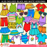 Summer Clothes Clip Art
