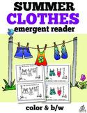 Summer Clothes Emergent Reader