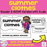 Summer Clothes Reader ~ For Young Readers + BOOM™ Version with Audio
