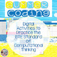 Summer Coding Digital Interactive Activities for Google Slides or PowerPoint
