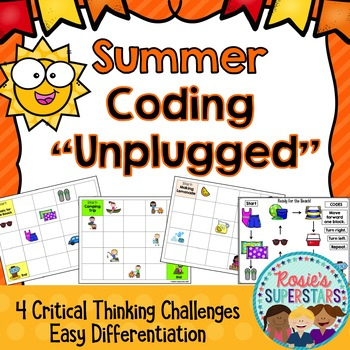 Summer Coding Unplugged Great for Hour of Code™