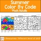 Summer Color By Code Math Bundle