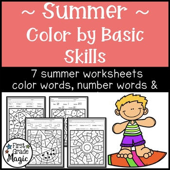 Summer Color by Basic Skills