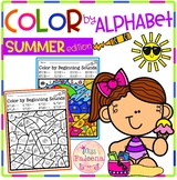 Summer Color by Code - Alphabet