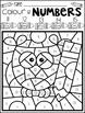 Back to School Activities Color by Code Numbers 11-20 Activities