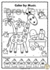 Summer Color by Music Pack