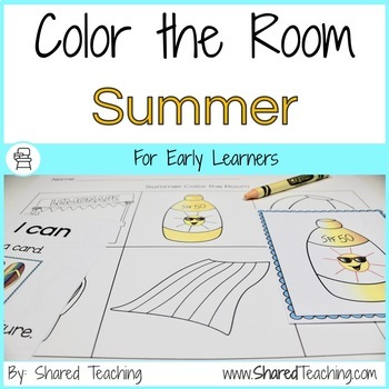 Summer Color the Room