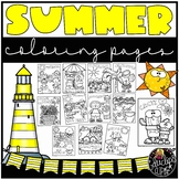 Summer Coloring Book {Educlips Resources}