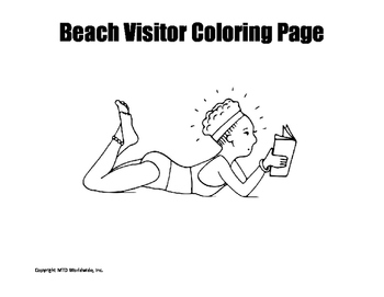 Summer Coloring Page Bundle