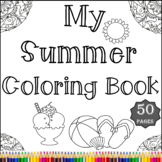 Summer Coloring Pages - Coloring Book - Fun Coloring Sheet
