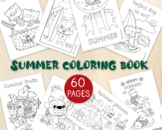 Summer Coloring Pages-End of the Year Coloring Sheets- 60