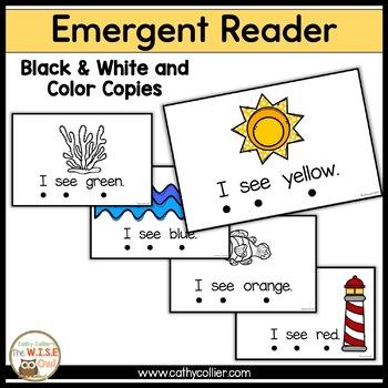 Summer Colors Emergent Reader