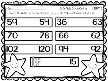 Summer Common Core Math Centers -- 4 Math Tubs