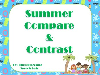 Summer Compare & Contrast Game