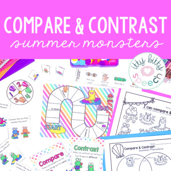 Summer Compare & Contrast Monsters