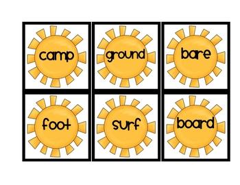 Summer Compound Word Match