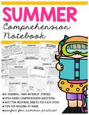 Summer Comprehension Notebook
